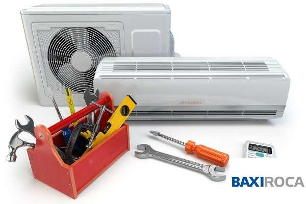 mantenimiento aires acondicionados baxi