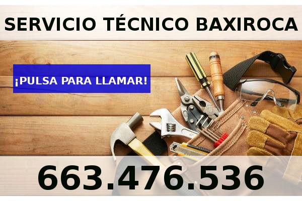 servicio tecnico baxiroca