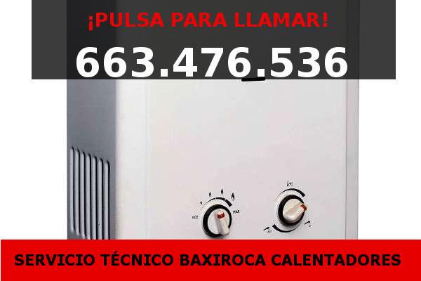 calentadores baxiroca Valencia